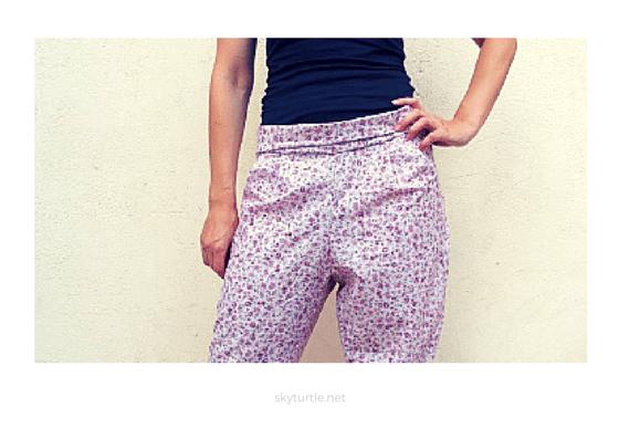 harem style pants diy