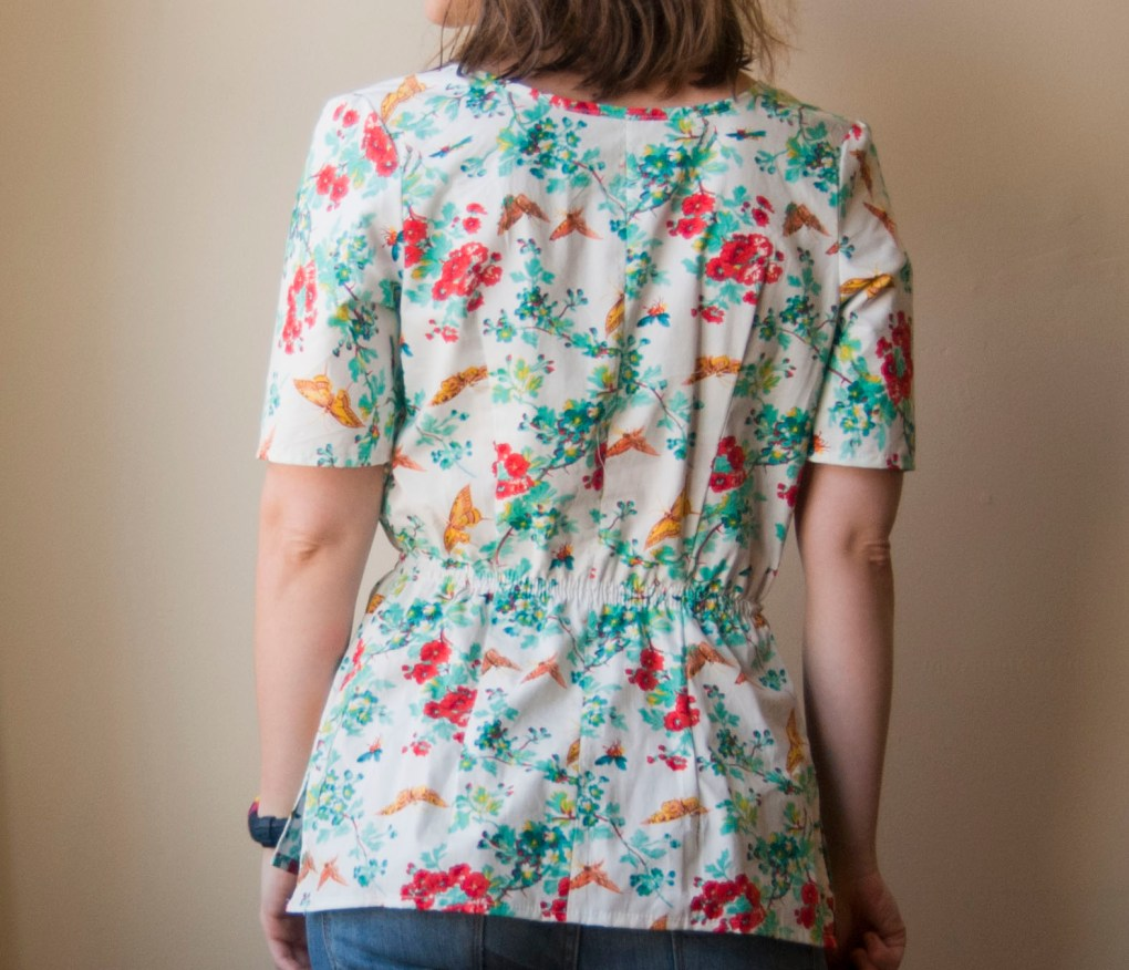 floral peplum top 3