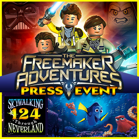 124: LEGO Star Wars: The Freemaker Adventures Press Event