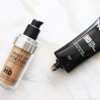 DUPES? Make Up For Ever Ultra HD vs. NYX HD Foundation & Concealer