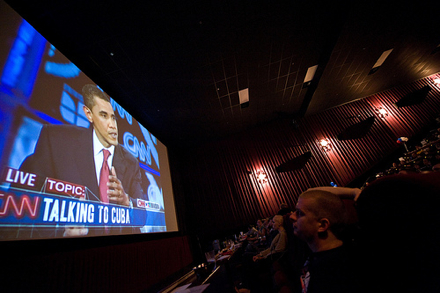 Presidential Debate at The Alamo Drafthouse