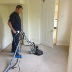 Carpet Cleaning using the Rotovac 360i