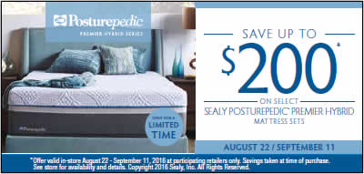 sealy labor day sales event8-22-9-11