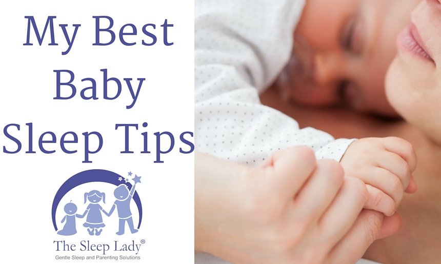 My Best Baby Sleep Tips