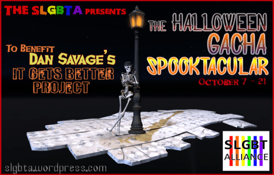 SLGBTA Halloween Gacha Spooktacular