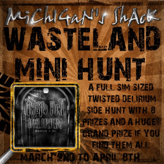 WASTELAND HUNT POSTER