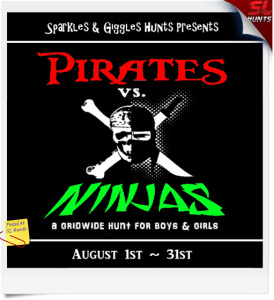 PiratesVsNinjasHuntSign