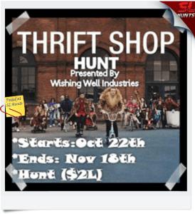 Thrift Shop Hunt