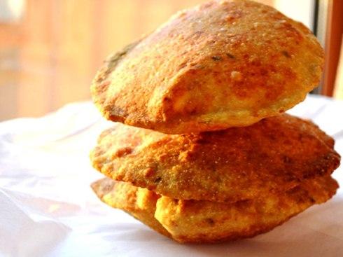 Sneak peek at the luscious Bedmi Puri ( next post)