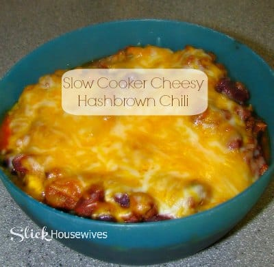 Cheesy Hashbrown Chili with Slow Cooker