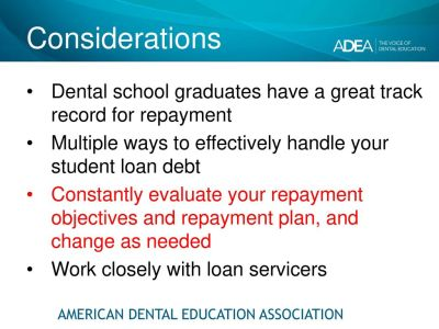 Senior loan exit interview dental school class of ppt download