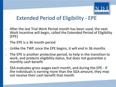 SSDI and Competitive Integrated Employment - ppt download