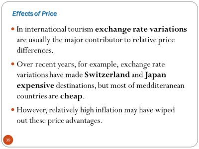 DEMAND FOR TOURISM Contents 1. Nature of Demand 2. Travel and Tourism Products 3. Buyer ...