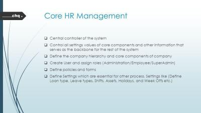 HRMS Human Resource Management System. - ppt video online download
