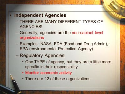 The Federal Bureaucracy - ppt video online download
