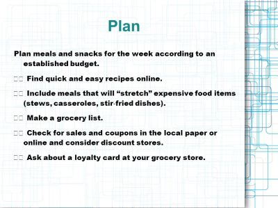 Eating Healthy on a Budget - ppt video online download