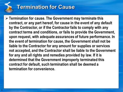 CONTRACT TERMS AND CONDITIONS--COMMERCIAL ITEMS ( ) (FEB 2007) - ppt video online download