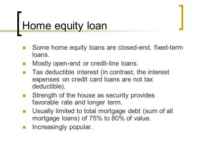 Residential mortgage loans and fund sources - ppt download
