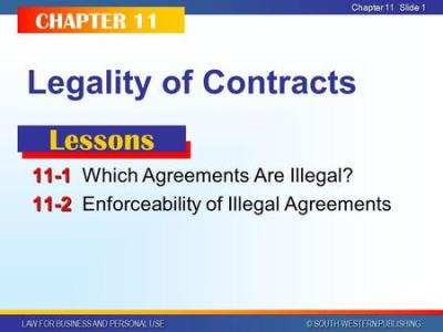 CHAPTER 10 Legal Purpose and Proper Form - ppt download