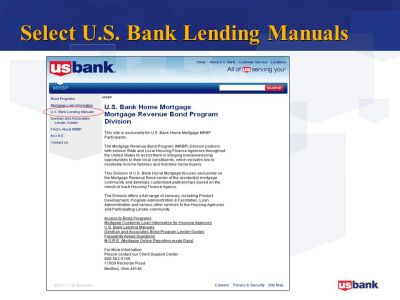 U.S. Bank Home Mortgage. - ppt download