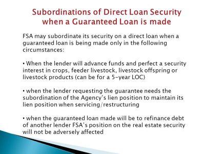 Kansas Farm Loan Programs Guaranteed Lender Informational Meeting - ppt download