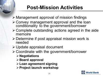 for Project Preparation and Appraisal - ppt download