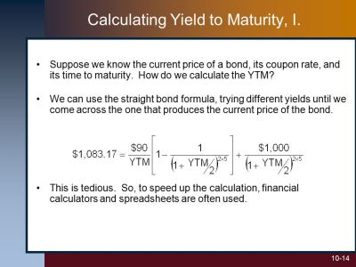 10 Bond Prices and Yields McGraw-Hill/Irwin - ppt video online download