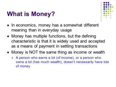 The Asset Market, Money, and Prices - ppt video online download