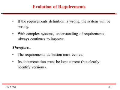 CS 5150 Software Engineering - ppt download