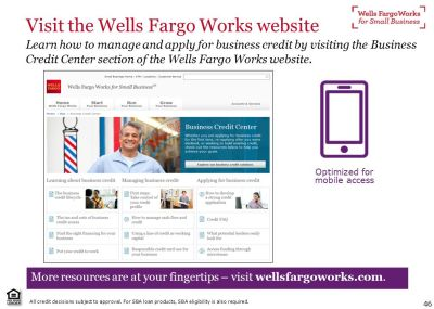 Wells Fargo Works for Small Business - ppt video online download