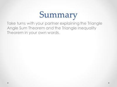 Constructing Triangles - ppt download