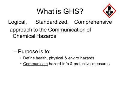 Background The GHS was adopted by the United Nations in ppt video online download