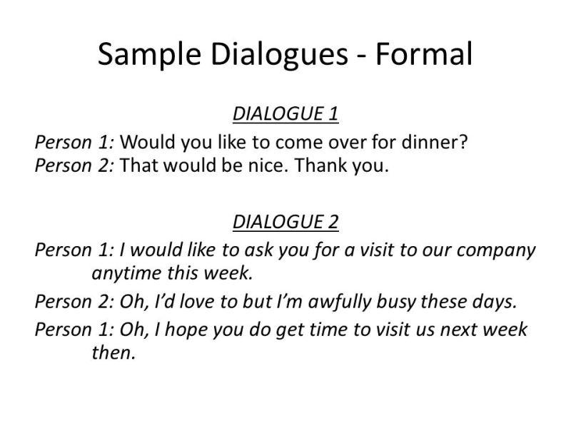 Dialog declining invitation birthday party invitationswedd social interactions inviting responding to invitations ppt stopboris Images