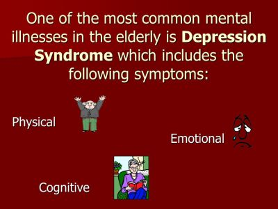 ASSESSMENT OF DEPRESSION IN THE ELDERLY - ppt video online download
