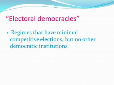 What do we mean by democracy? - ppt video online download
