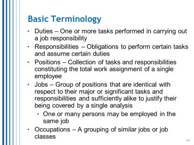 Job Analysis and Job Design - ppt video online download