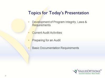 ValueOptions® Program Integrity - ppt download