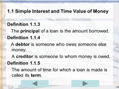 Chapter 1 Simple Interest START EXIT. - ppt download