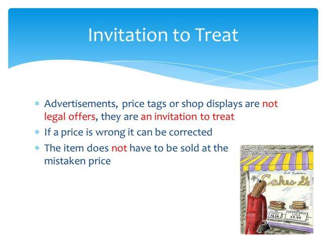Offer vs invitation to treat pdf invitationswedd invitation to treat definition choice image sample stopboris Images
