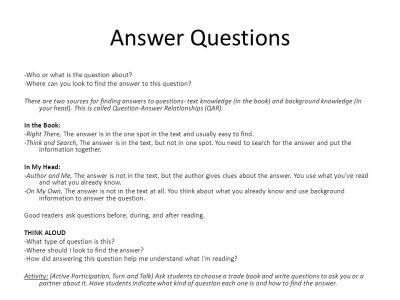 Comprehension Strategies - ppt video online download
