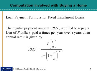§8.5, Installment Loans, Amortization, and Credit Cards - ppt download