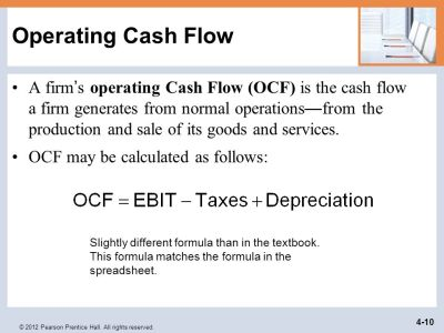 Analyzing the Firm's Cash Flow - ppt video online download