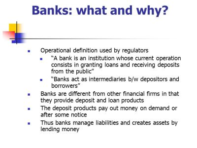 Economics of Banking and Money - ppt download