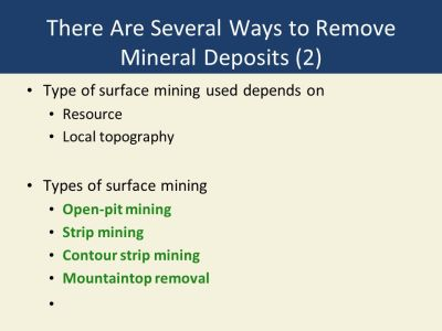 Chapter 14 Geology and Nonrenewable Mineral Resources - ppt download
