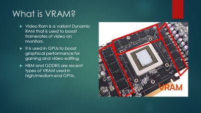 A comparison of the current types of Video Ram By: Zachary Kessler - ppt video online download