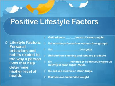 Health and Wellness. - ppt download