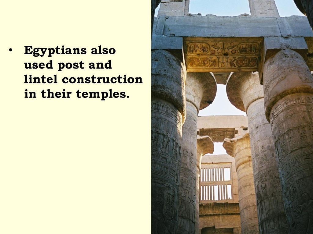 White Used Post Lintel Construction Art History Lintel Construction Lintel Construction Is Shown By Post Egyptians Ir Basic Structures Ppt Download Post houzz 01 Post And Lintel Construction
