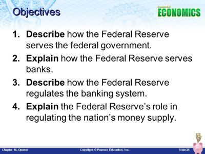 Chapter 16: The Federal Reserve and Monetary Policy Opener - ppt download