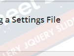 Import Settings Set Values from Import CSV file