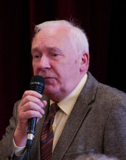 Seamus McDonald, Laois County Council speaks at the Slieve Bloom Association 40th Celebration in Kinnitty